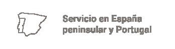 servicio españa y portugal