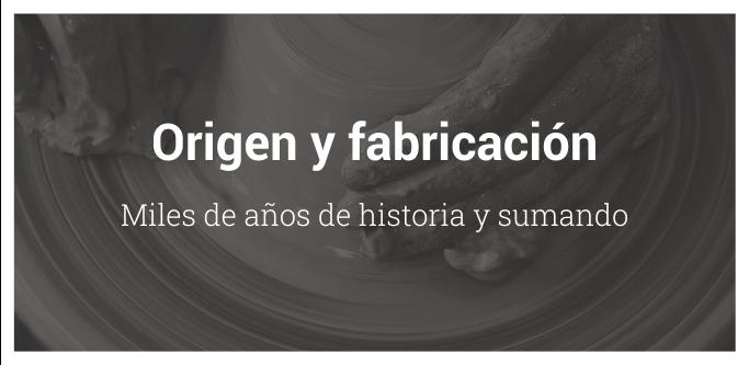 origen y fabricación del botijo