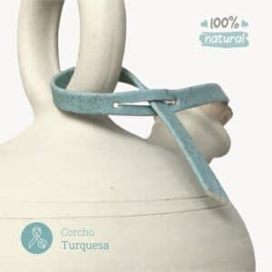 protector de corcho turquesa bootijo