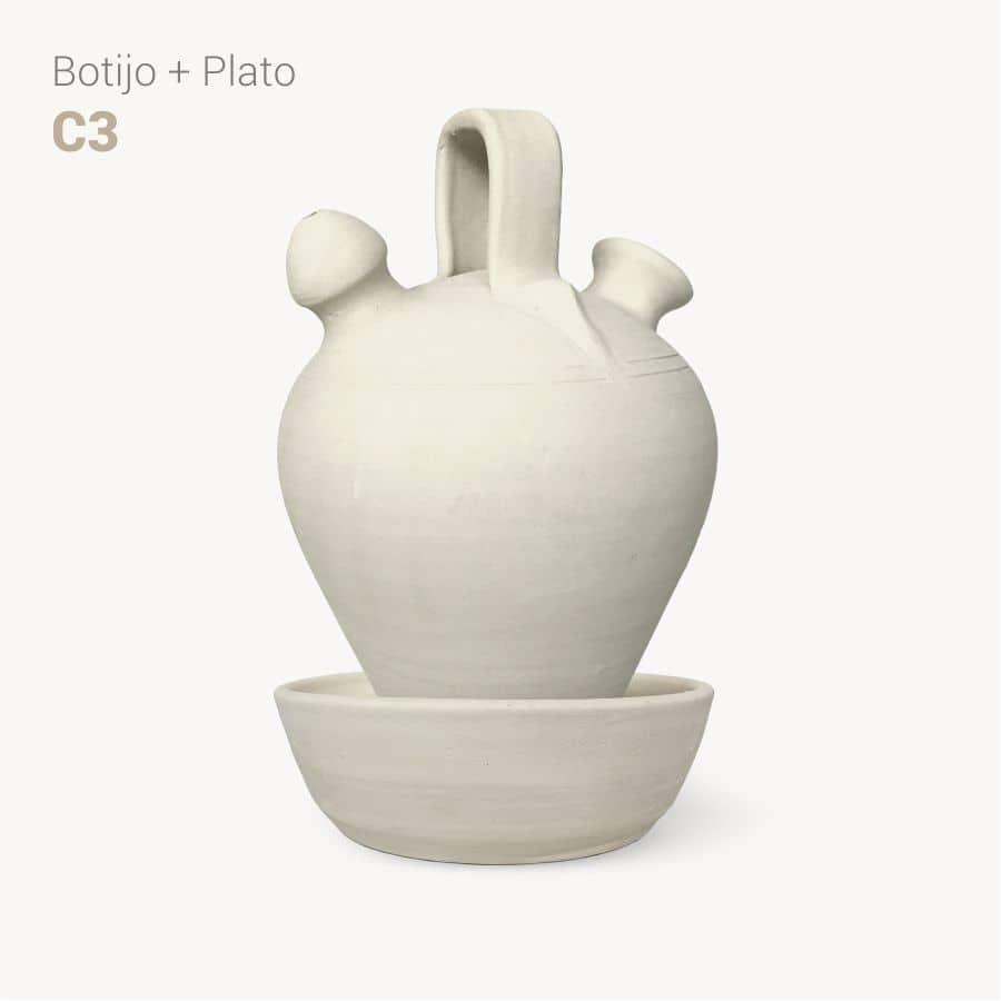 botijo y plato C3 - Bootijo