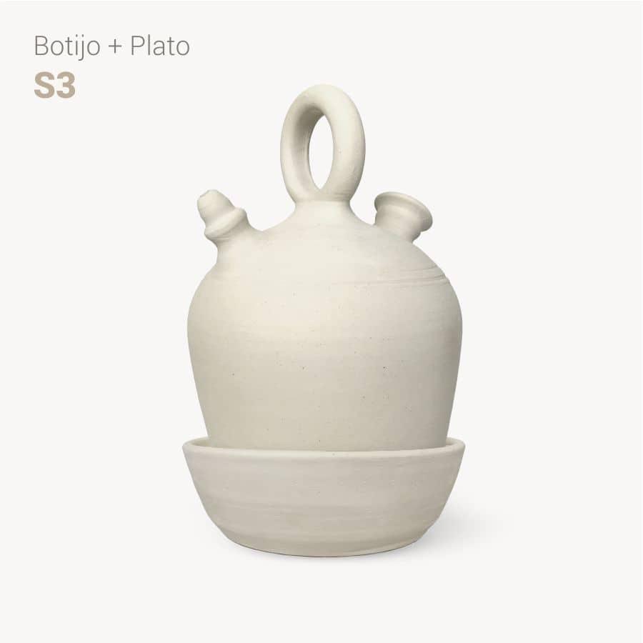 botijo y plato S3 - Bootijo