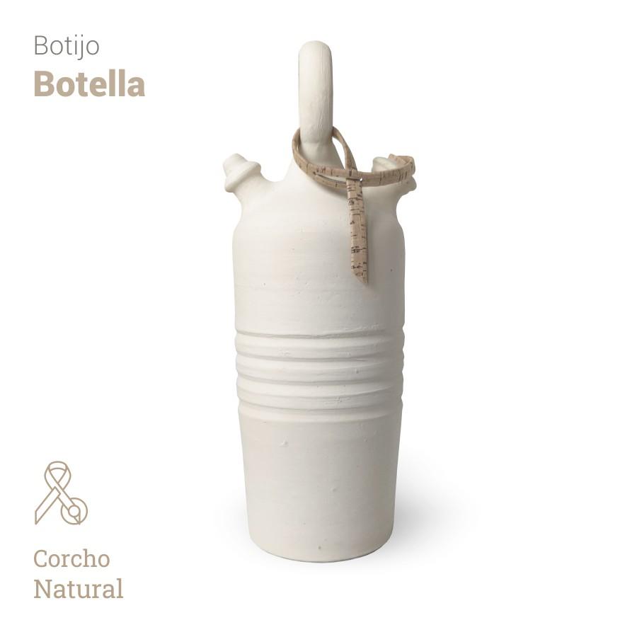 Botijo Botella 2L+corcho natural - Bootijo