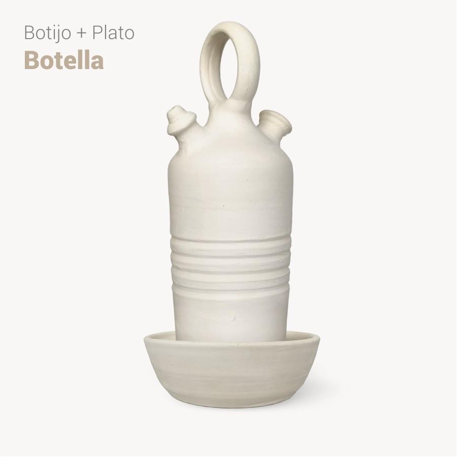 Botijo Botella 2L+plato - Bootijo