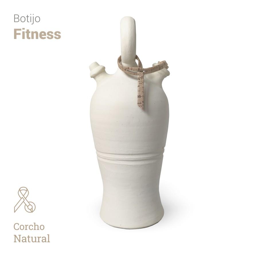 Botijo Fitness 2L+corcho natural - Bootijo