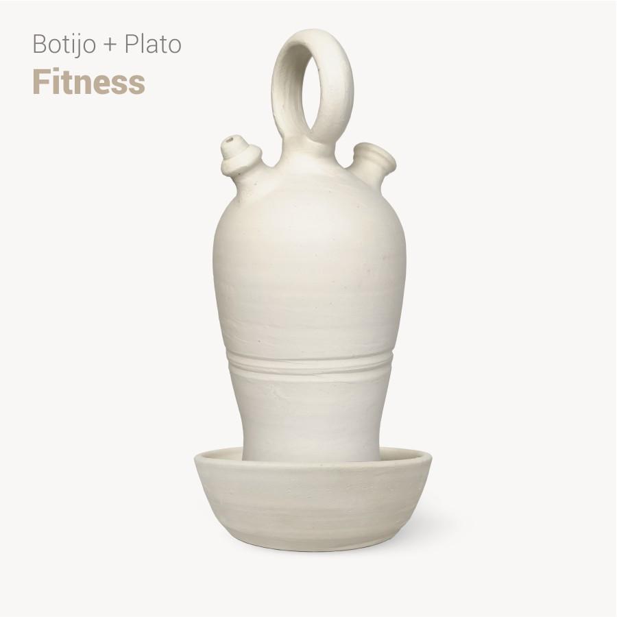 Botijo Fitness 2L+plato - Bootijo