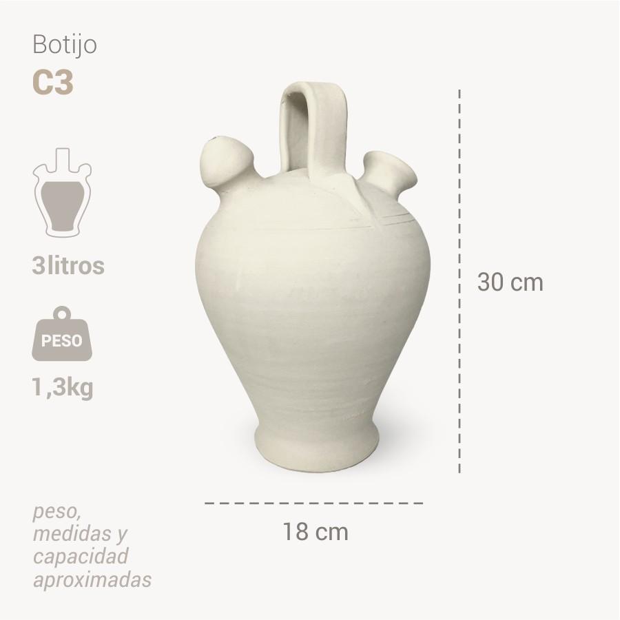 Botijo Cordoba 3L info - Bootijo