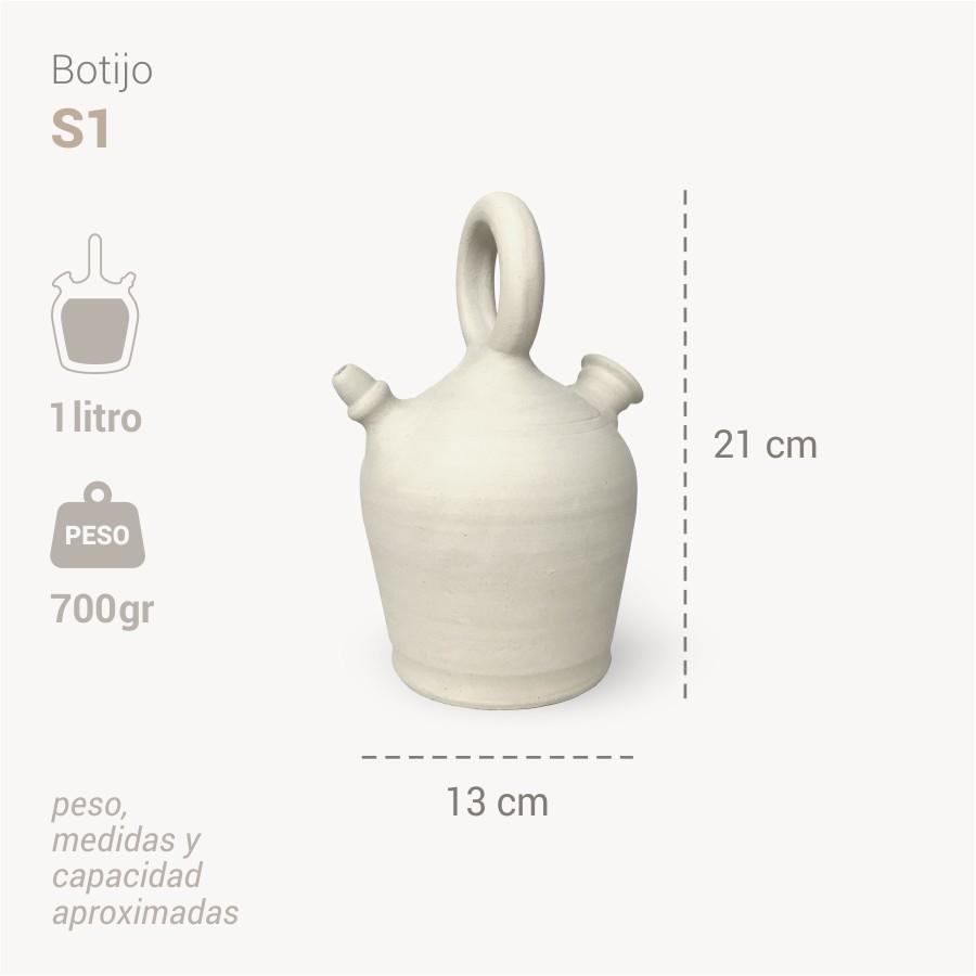 Botijo Santander 1L info - Bootijo