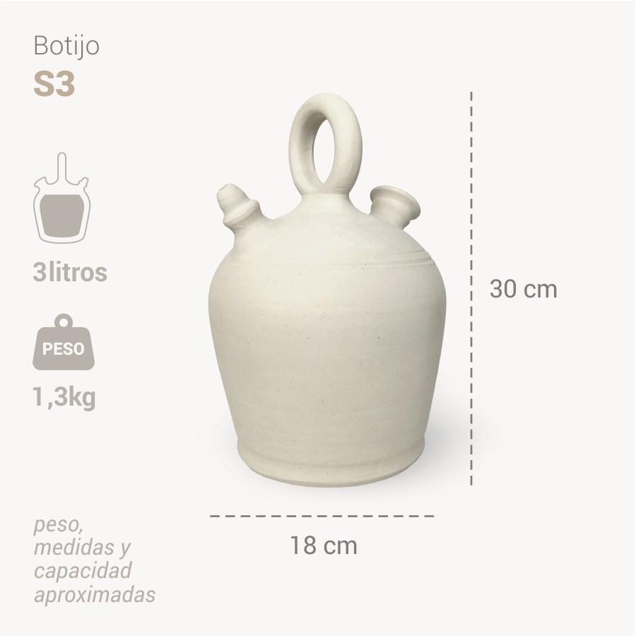 Botijo Santander 3L info - Bootijo
